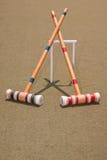 Due magli di croquet Fotografia Stock Libera da Diritti