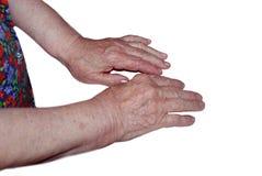Due mani Immagini Stock Libere da Diritti