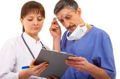 Due medici Fotografie Stock Libere da Diritti