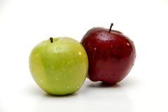 Due mele Immagine Stock Libera da Diritti