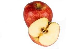 Due mele rosse Fotografia Stock Libera da Diritti