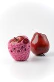 Due mele rosse Immagine Stock Libera da Diritti