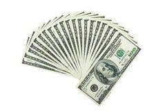 Due mila dollari Fotografie Stock