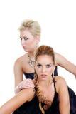 Due modelli di modo Fotografie Stock Libere da Diritti