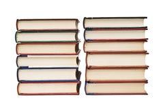 Due mucchi dei libri. Immagini Stock Libere da Diritti