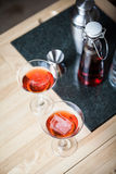 Due Negronis Fotografie Stock