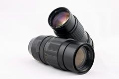 Due obiettivi Fotografia Stock