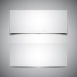Due ombre della casella Fotografia Stock