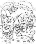 Due orsi royalty illustrazione gratis