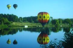 Due palloni Fotografia Stock