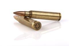 Due pallottole Fotografia Stock Libera da Diritti