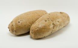 Due panini braed Fotografia Stock