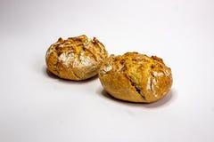 Due panini rustici immagine stock