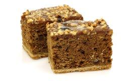 Due parti della torta lustrate Frisian tradizionale Fotografia Stock Libera da Diritti