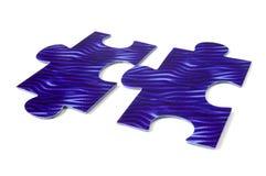 Due parti di un puzzle Immagine Stock