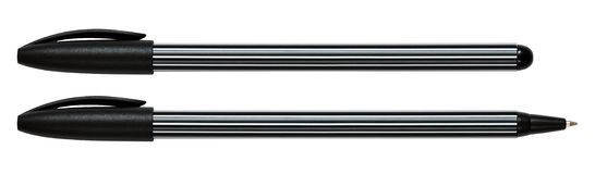 Due penne Fotografia Stock Libera da Diritti