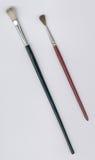 Due pennelli Immagine Stock