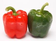 Due peperoni dolci Immagine Stock