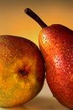 Due pere Immagini Stock Libere da Diritti
