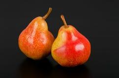 Frutta rossa della pera Immagine Stock Libera da Diritti