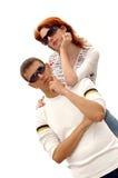 Due persone Fotografie Stock