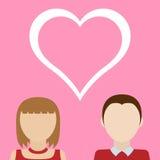 Due persone amorose Immagine Stock