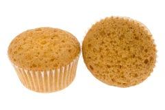 Due piccoli fruitcakes Immagine Stock Libera da Diritti