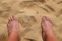 Due piedi Fotografia Stock