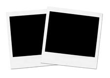Due Polaroids Fotografia Stock Libera da Diritti