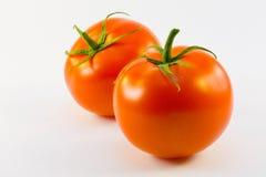 Due pomodori Fotografia Stock Libera da Diritti