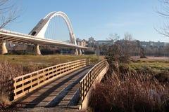 Due ponti nella stessa direzione Fotografie Stock