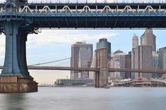 Due ponti in New York Immagine Stock Libera da Diritti