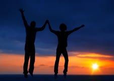 Due ponticelli felici Immagine Stock Libera da Diritti