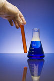Due prodotti chimici Immagine Stock Libera da Diritti