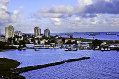 Due punti Panama Fotografie Stock Libere da Diritti
