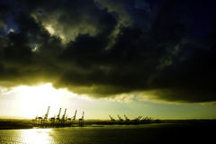 Due punti Panama Immagine Stock Libera da Diritti