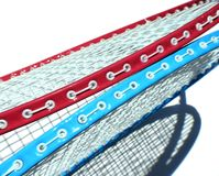 Due racchette di tennis Immagine Stock