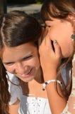 Gossip adolescente Fotografie Stock Libere da Diritti