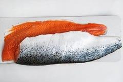 Due raccordi di color salmone Immagine Stock