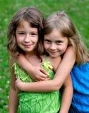 Due ragazze Immagini Stock