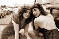 Due ragazze Fotografia Stock