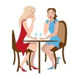 Due ragazze del gossip Fotografia Stock Libera da Diritti