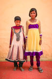 Due ragazze indiane Fotografia Stock Libera da Diritti