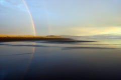 Due Rainbow immagine stock libera da diritti
