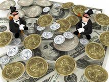 Due ricchi Immagine Stock Libera da Diritti