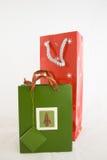 Due sacchetti del regalo Fotografia Stock