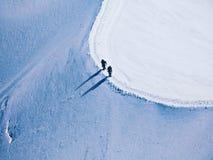 Due scalatori Fotografie Stock