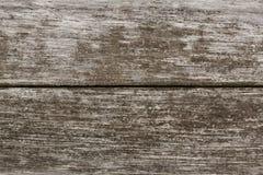 Due schede di legno anziane Fotografia Stock