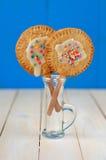 Due Schiocco-Torte Fotografie Stock Libere da Diritti