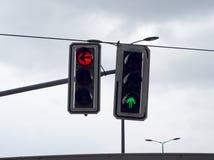 Due semafori immagine stock